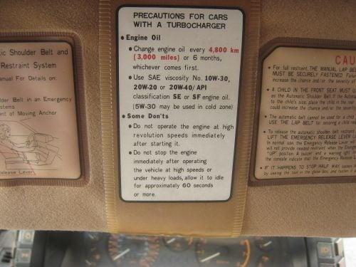 How Many TURBO Emblems Does an 80s Mitsubishi Need?