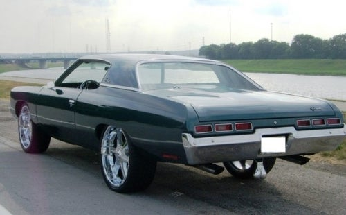 Truck Nuts Find Way To Classic Impala