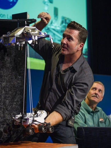 JPL Rocket Scientist Shows Why He's the Right Kind of Crazy