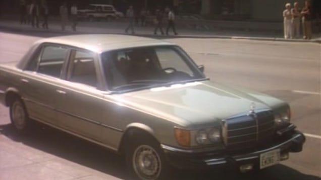 Mercedes-Benz W116 W 116 Light Sun