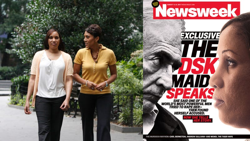 Strauss-Kahn Accuser Goes Public, Offers New Details On Alleged Assault