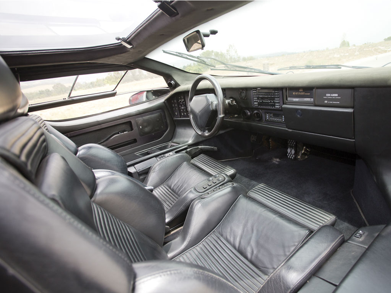 Did You Know The Vector W8's Interior Is Delightfully Nuts?