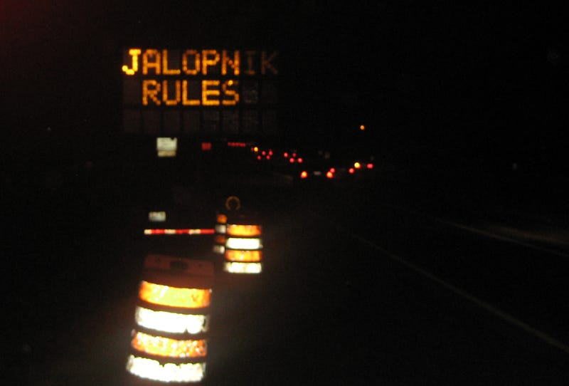 How To Hack An Electronic Road Sign