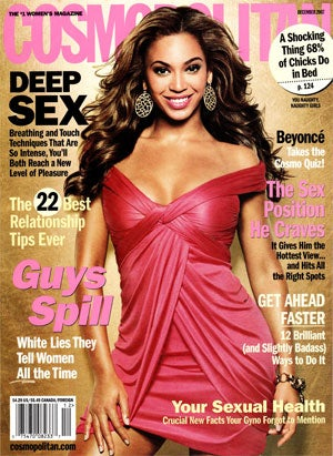 Cosmo Girl Beyonce Knowles: Detail-Oriented, Thoughtful, Possibly Power-Hungry
