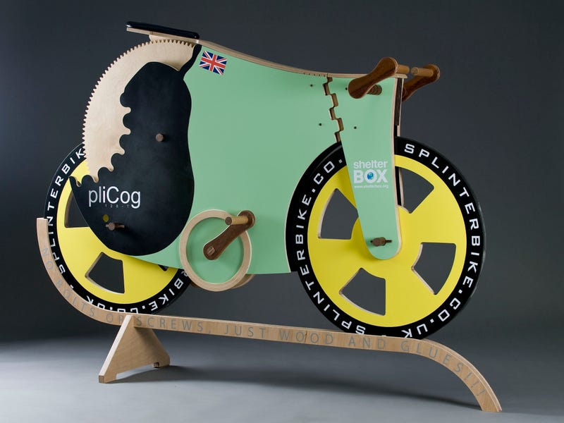 This 'All Wood' Bicycle Can Go Pretty Fast