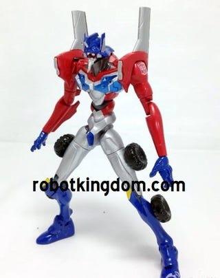 The Official Optimus Prime EVA Unit Revealed
