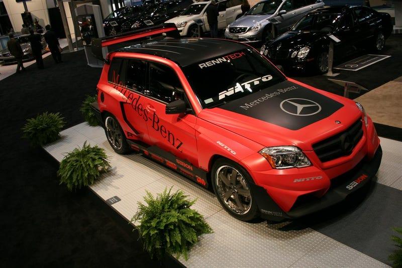 Renntech Mercedes GLK Pikes Peak Rally Racer