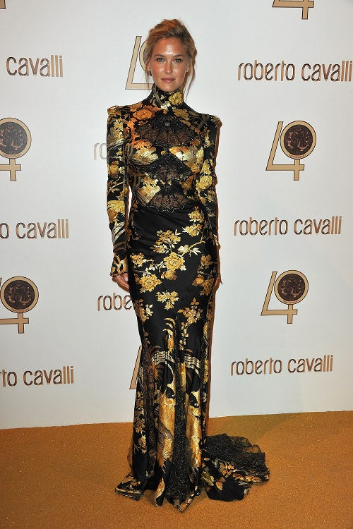 Everyone Looks Predictably Ridiculous At Cavalli Party