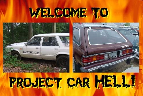 Project Car Hell, Ten Buck Gas Edition: Electric Hornet Or Electric Fairmont?