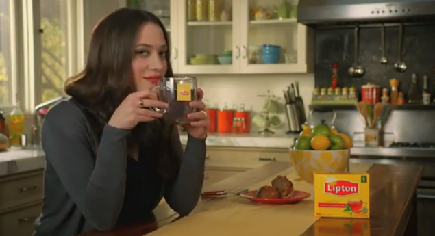 Can We Talk About How Kat Dennings Is Doing Lipton Tea Commercials?