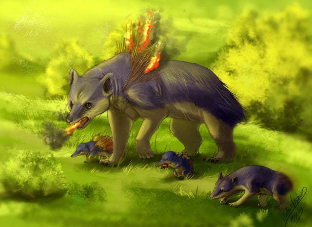 Pokémon Would Make A Safari Trip Much Cooler