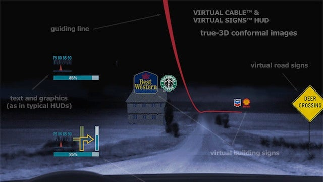 Augmented Reality Navigation Displays in Your Windshield? Absolutely.