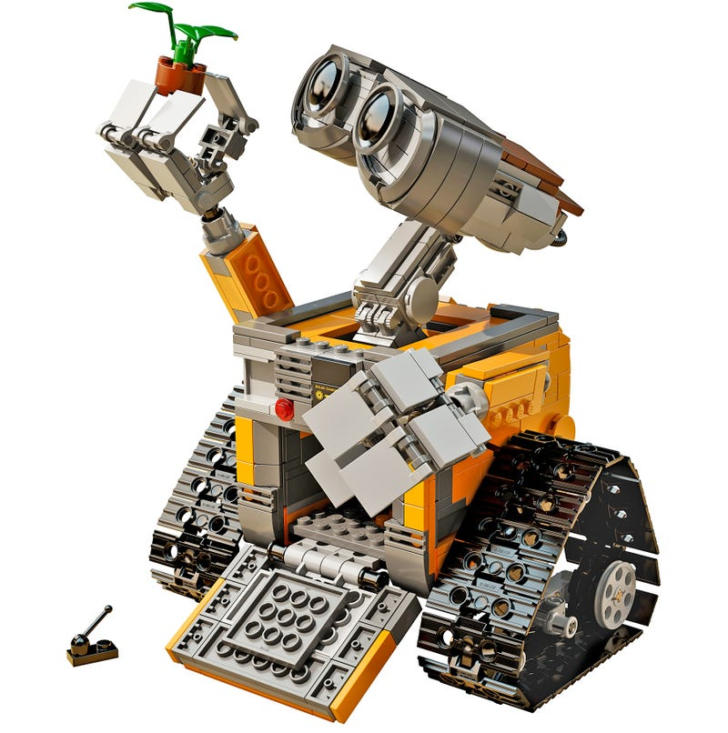 lego has finally officially revealed its new wall e set. Black Bedroom Furniture Sets. Home Design Ideas