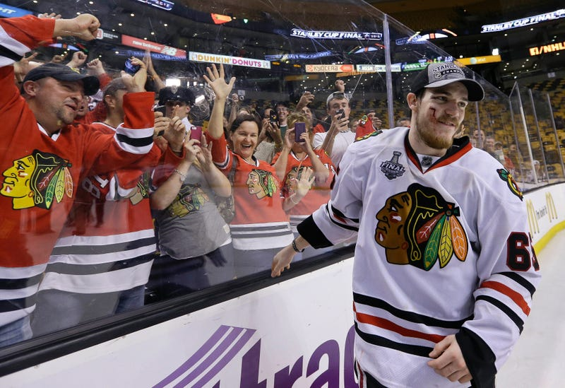Andrew Shaw's Bloody Face Is The Face Of The Stanley Cup