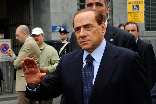 Berlusconi Pulls Bin Laden Card Before Tax Fraud Trial