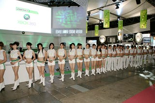 Xbox Japan Booth Babes Adore New Booth Babe Outfit