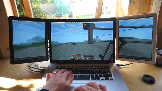 Multi-Screen Gaming On A Laptop? Crazy, But Sure, Let's Roll With It