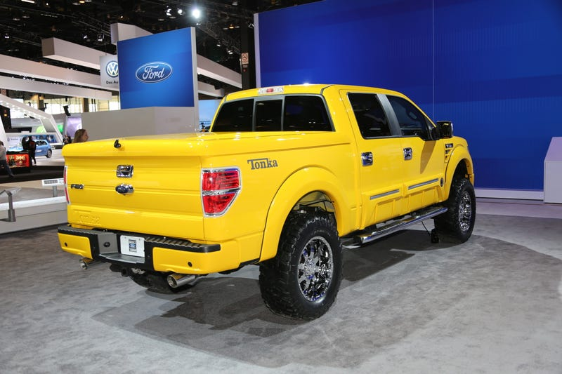 TONKA F-150: A Surprisingly Well-Executed Appeal To Your Inner Child