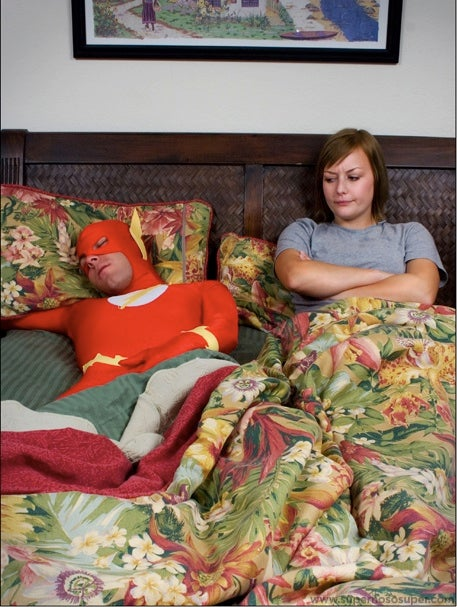 Superheroes Caught in Less Than Glamorous Moments