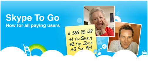 Grab a Skype To Go Number for Cheap Calls from Any Phone
