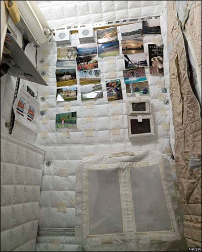Bachelor Pads of the International Space Station