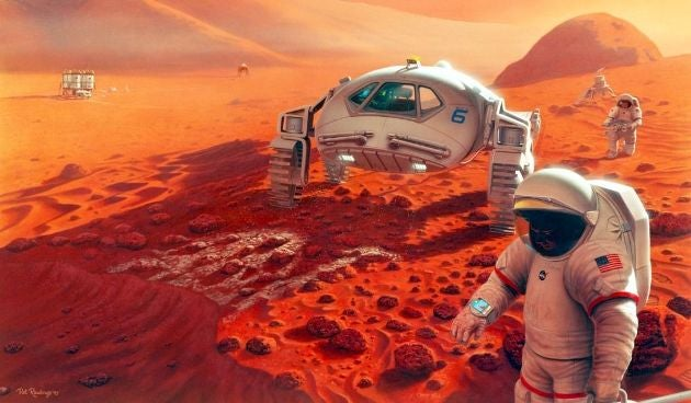 The fastest way to send humans to Mars is to not worry about bringing them back