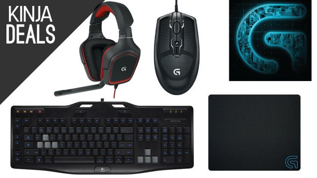 This Awesome Logitech Gaming Peripheral Bundle is Just $60 Today