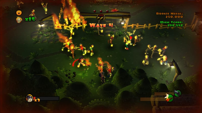 PSN To Be Plagued By Zombies In Burn Zombie Burn!