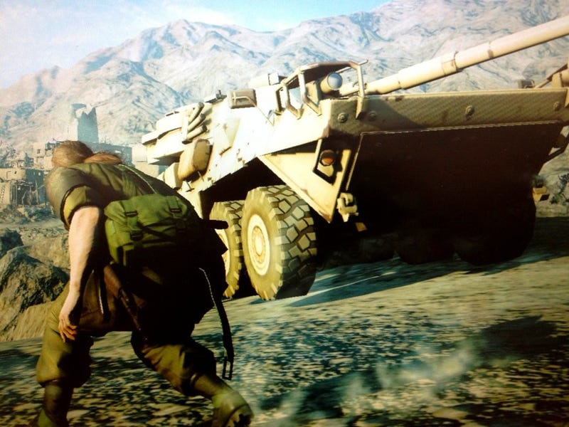 "Metal Gear Creator's Next Game is Set In a ""Very Open World"""