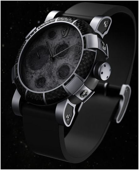Moon Dust-DNA Watch Made From Actual Moon Dust and Parts From Apollo 11