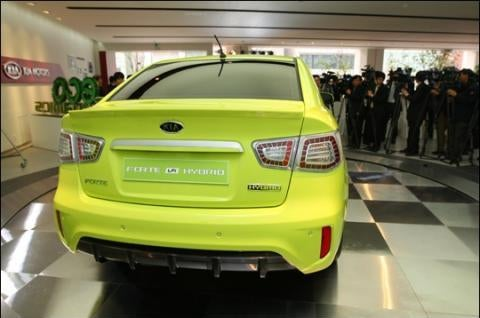 Kia Forte LPI Hybrid: First Production Kia Hybrid