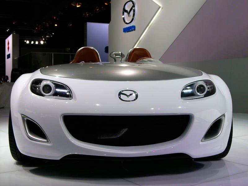 Mazda MX-5 Superlight Says Good Morning From Frankfurt!