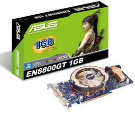 ASUS Upgrades EN8800GT Cards With 1GB of Memory