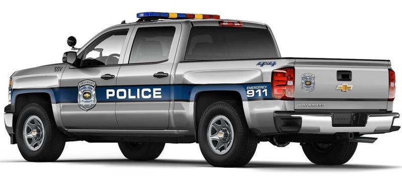 2015 Chevrolet Silverado Could Be Your Town's Next Cop Car