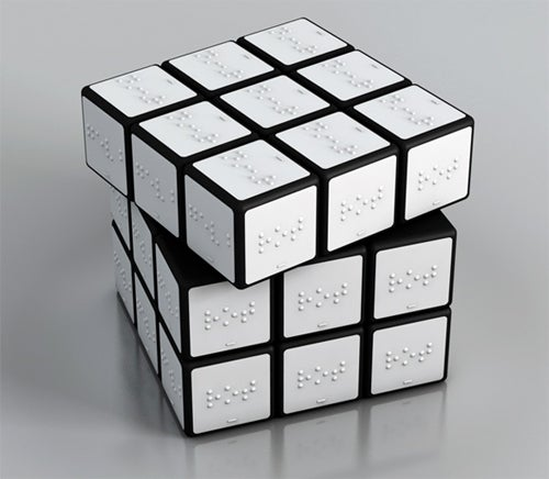 Braille Rubik's Cube Would Take 54 Times As Long To Complete