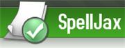 Use SpellJax to check your spelling online