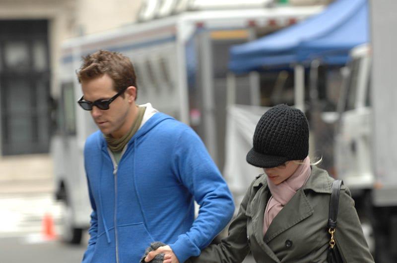 Shh! Ryan Reynolds & Scarlett Johansson, On The DL