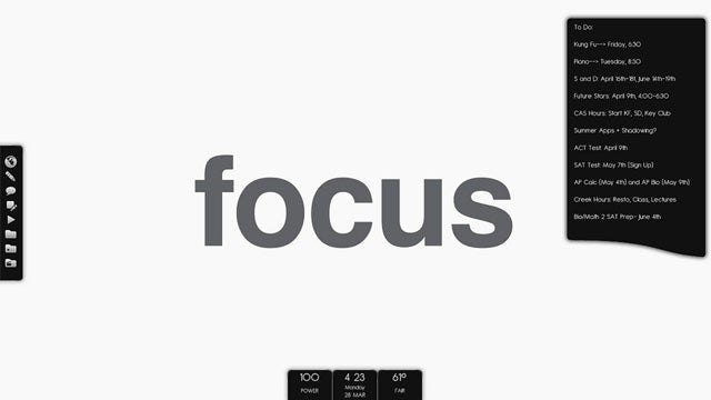 Monotone Focus Desktop