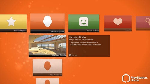 A New Way To Navigate PlayStation Home