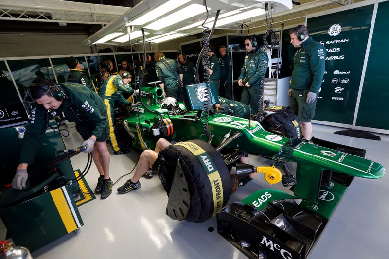 Caterham F1 officially sold off!