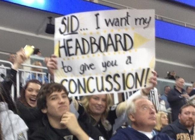 Pens Fans Don't Seem To Grasp The Significance Of Head Injuries