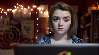 Maisie Williams is getting cyberbullied on Channel 4