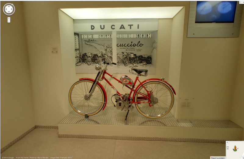 Visit The Ducati Museum On Google Street View