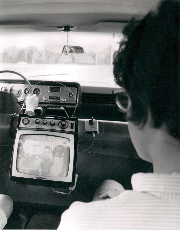 Ford's Autovision Put A TV In Your Car In 1965