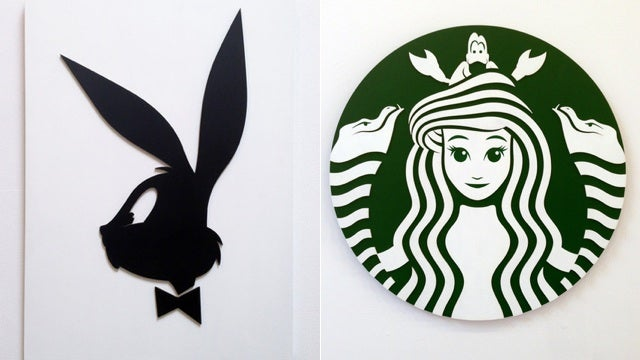 What if famous brands used famous cartoon characters as their logos?