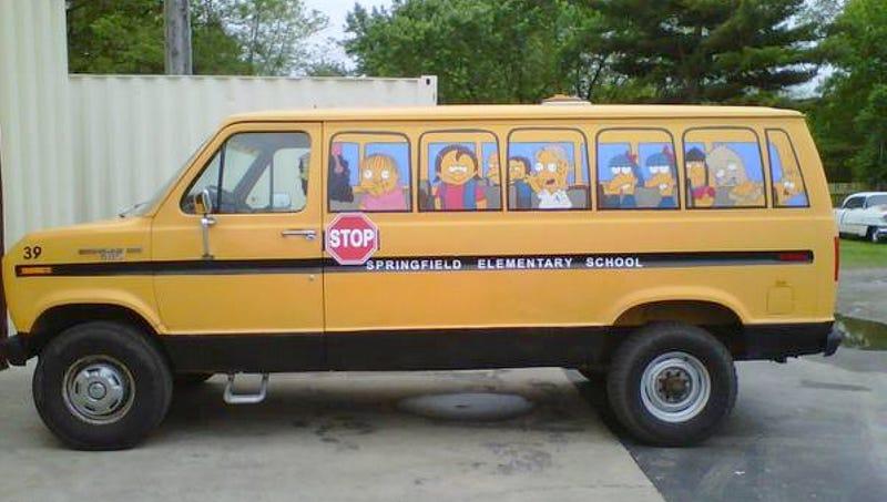 For $1,200, Choo-Choo-Choose The Simpsons Bus