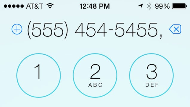Make Your iPhone Automatically Dial Someone's Extension