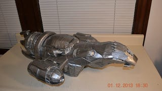 <em>Firefly</em>'s Serenity Made Entirely Out Of Duct Tape Is Literally Shiny