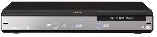 Sharp Announces BD-HP20S Blu-ray Player with Quick Start and HDMI 1.3