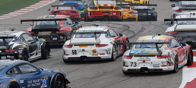 ac5v9ewofkecuflnsdqn If you missed the Tudor United Sports Car Championship race that happened in Austin yesterday — and